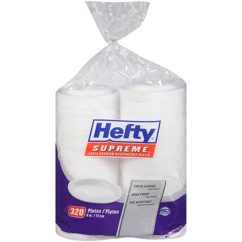 Hefty Supreme Foam Plates ...  sc 1 st  Kesar Grocery & Kesar Grocery :: Disposable Items :: disposable plates :: Hefty ...