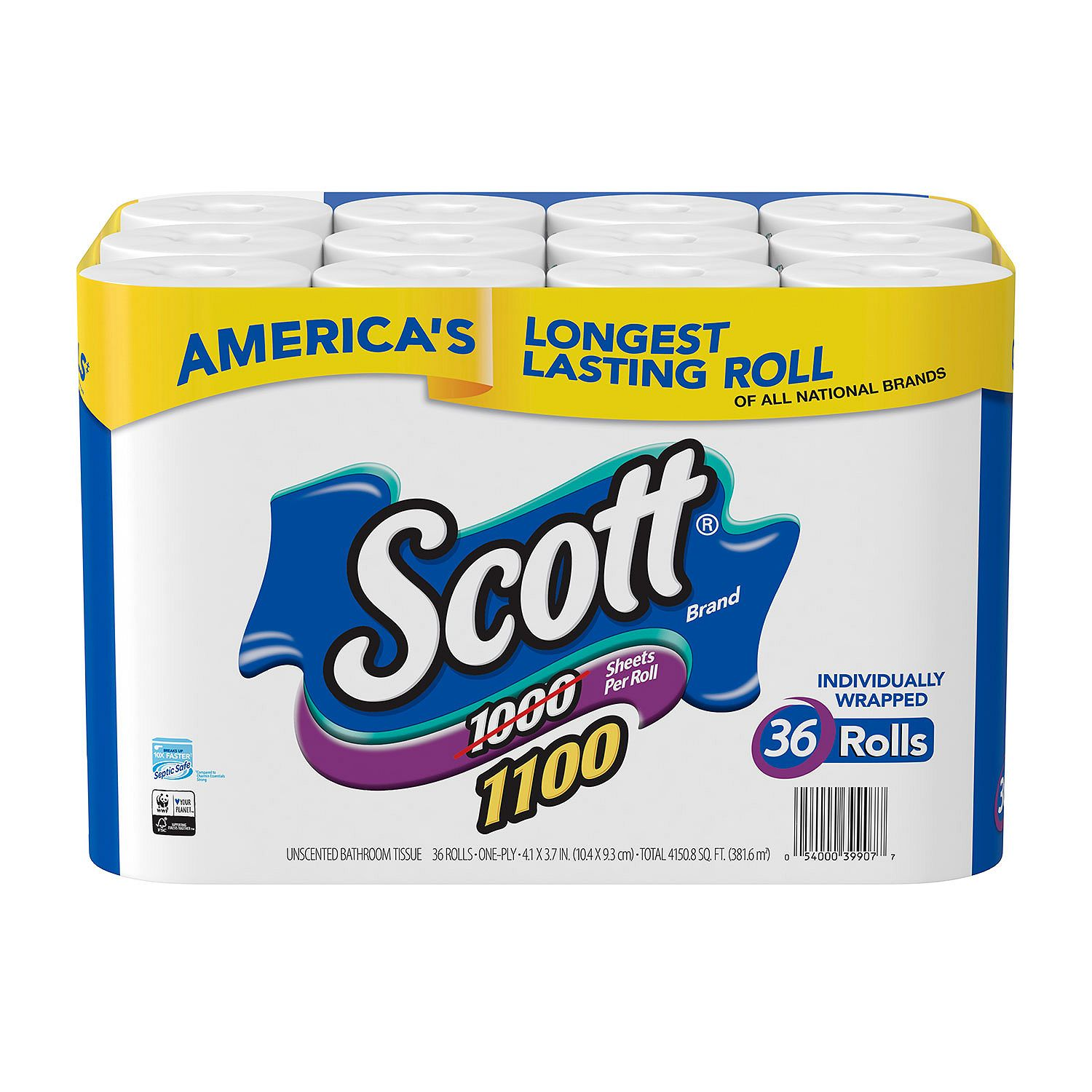 Kesar Grocery :: Paper Products :: toilet paper :: Scott 1100 ...
